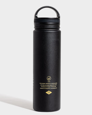 Lunar Moth 22 oz. Insulated Steel Water Bottle