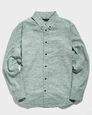 SoftHemp™ Chambray Button Down