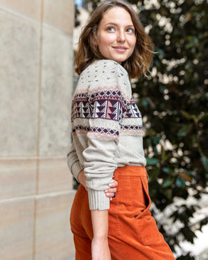 Women's Merino Blend Ski Sweater