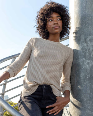 Women's Organic Cotton Crew Sweater