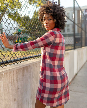 The Responsible Flannel Dress