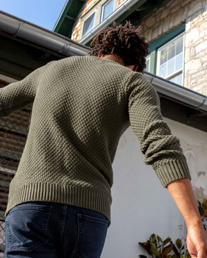 Organic Cotton Crew Sweater