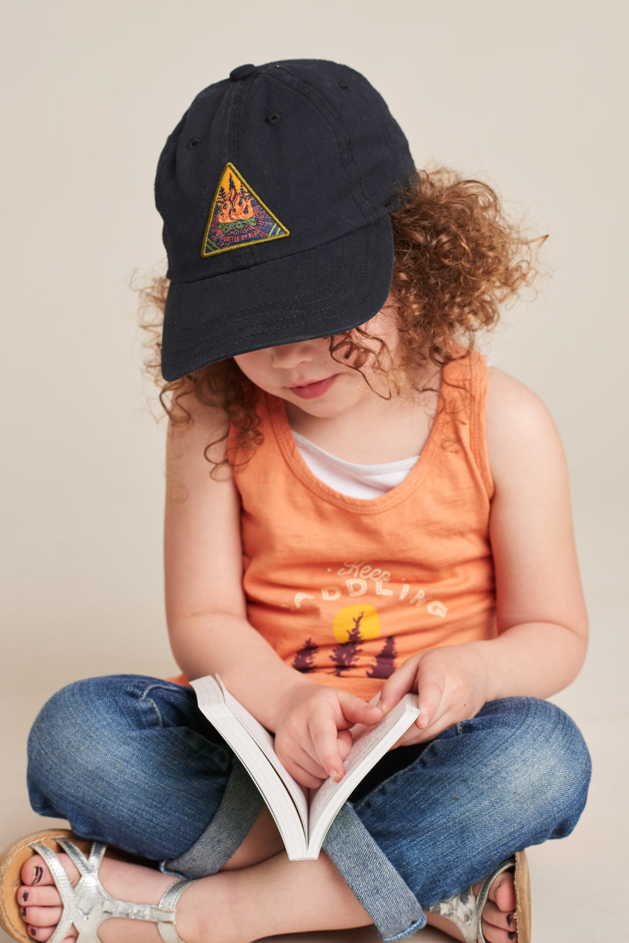 Kids' Campfire Baseball Hat