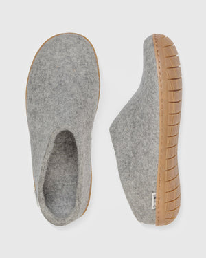 The Slip-On - Honey Rubber Sole