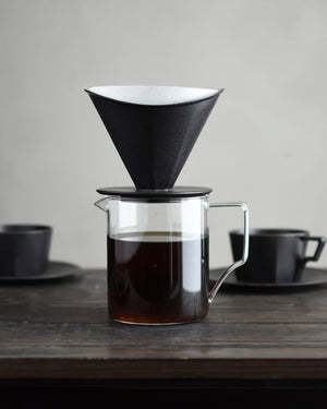4-Cup Porcelain Pour Over Brewer