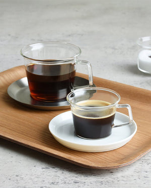 Cast Glass Coffee Mug (Set of 4)