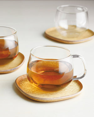 Unitea 12 oz. Glass Teacup