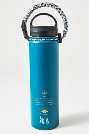 Lands Unknown 22 oz. Insulated Steel Water Bottle