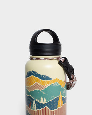 Mountain Shadow 32 oz. Insulated Steel Water Bottle