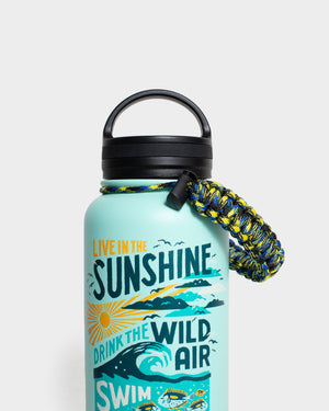 Swim In The Sea 32 oz. Insulated Steel Water Bottle