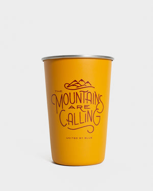 Mountains Are Calling 16 oz. Steel Tumbler