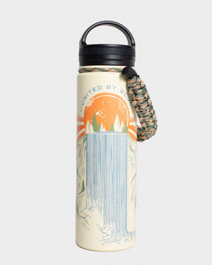 Rolling Waters 22 oz. Insulated Steel Water Bottle