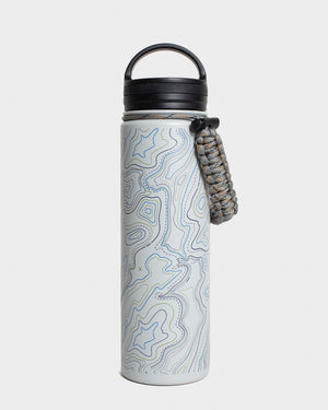 Topography 22 oz. Insulated Steel Water Bottle