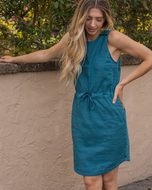 SoftHemp™ Snap-Strap Cinch Dress