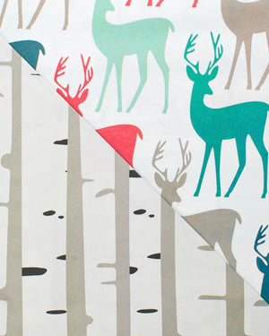 Stags Birch Reversible Eco Gift Wrap
