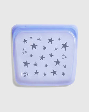 Printed Reusable Silicone Sandwich Bag - Starry Night