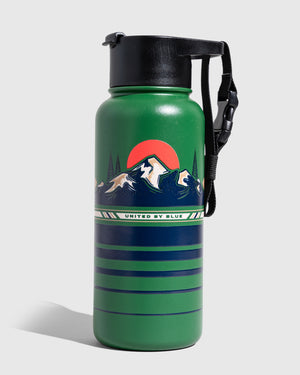 To The Mountains 32 Oz. Insulated Steel Bottle