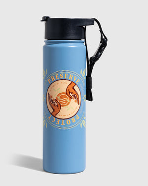 Preserve And Protect 22 Oz. Insulated Steel Bottle