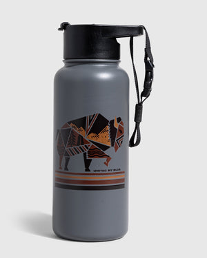 Geo Bison 32 Oz. Stainless Steel Bottle