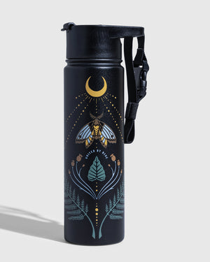 Lunar Moth 22 Oz. Insulated Steel Bottle