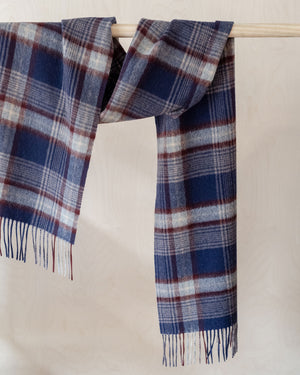 Heritage Check Lambswool Scarf