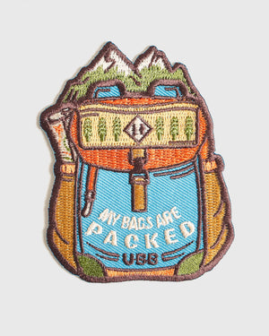 Bags Are Packed Patch
