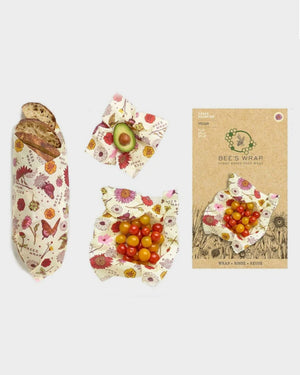 Vegan Meadow Magic Reusable Food Wrap 3-Pack