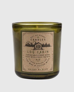 8.5 oz. Log Cabin Out-of-Doors Candle