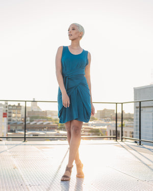 EcoKnit™ Convertible Wrap Dress