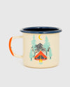 Tent Dreams Enamel Steel Mug