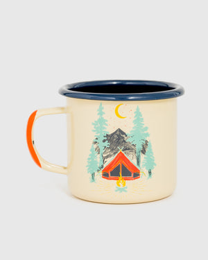 Tent Dreams Enamel 12 oz. Mug