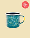 Upstream Enamel 12 oz. Mug
