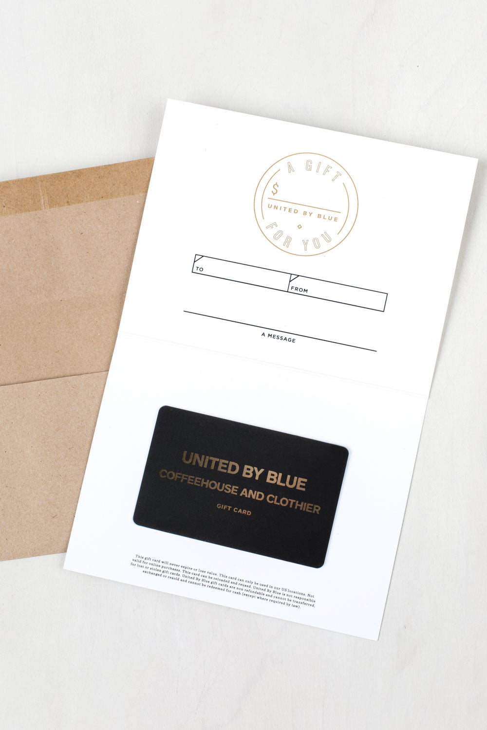 Gift Card for Brick and Mortar Stores | United By Blue