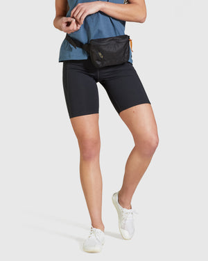 Girlfriend Collective High-Rise Bike Short - Black