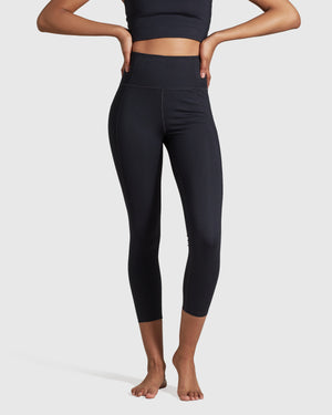 Girlfriend Collective Compressive High-Rise Legging - Black