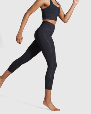 Compressive High-Rise Legging - Black