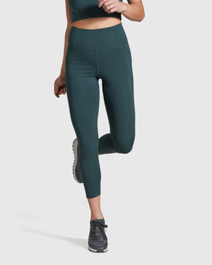 Compressive High-Rise Legging - Moss