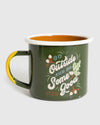 Go Outside Enamel 12 oz. Mug