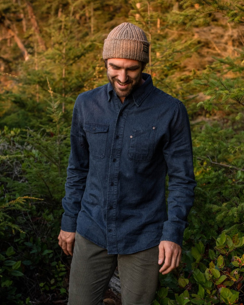 Men's River Denim Work Shirt | United By Blue