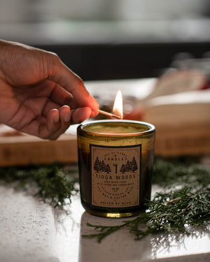 8.5 oz. Tioga Woods Out-of-Doors Candle