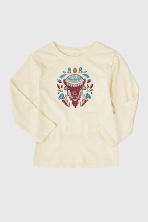 Girls' Blooming Wild Long Sleeve Tee