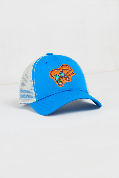 Kids' Stay Curious Trucker Hat