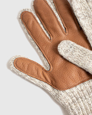 Deerskin Leather Palm Gloves