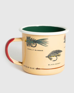 Let's Fly Enamel 12 Oz. Mug