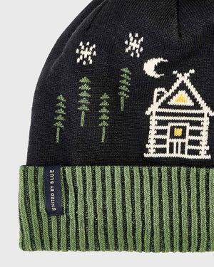 Let's Get Lost Roam Pom Beanie