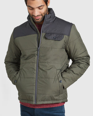 The Men's Bison Puffer