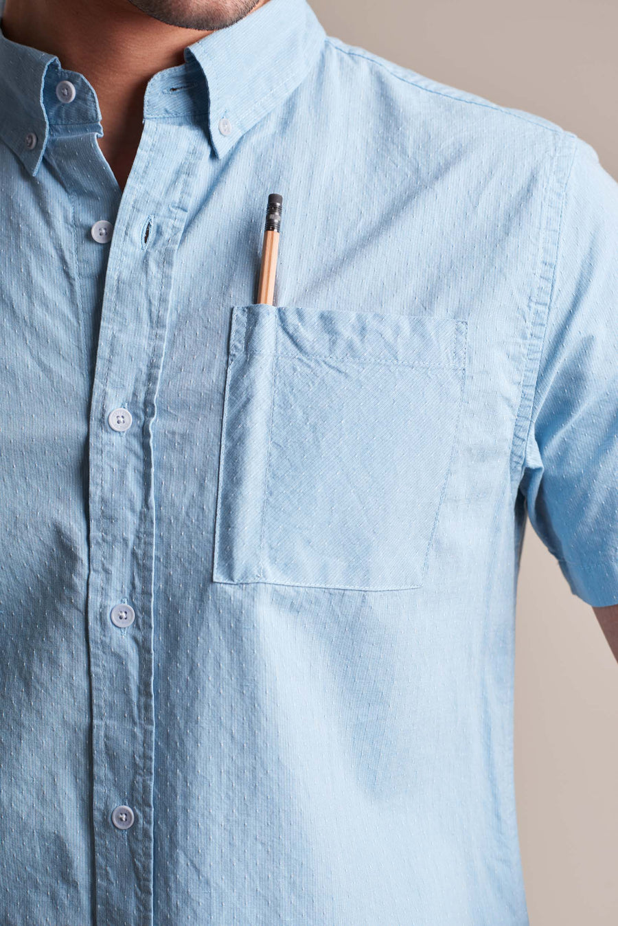 Bonhill Dot Button Down