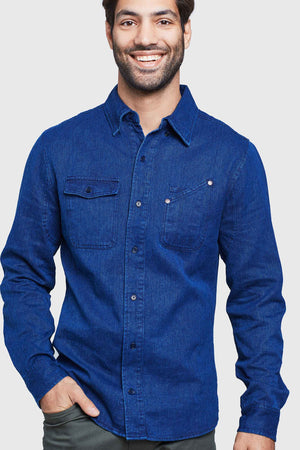 SoftHemp™ Denim Work Shirt