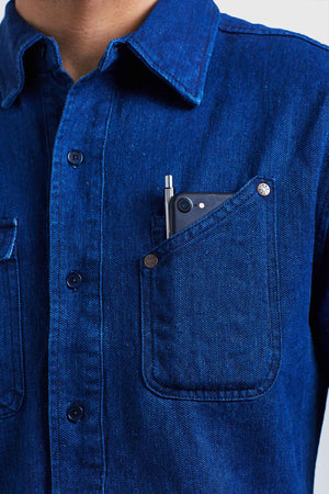 River Denim Work Shirt