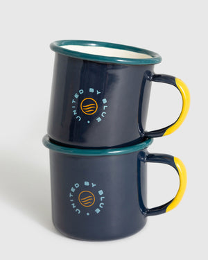 Mountains Are Calling Enamel 5 Oz. Mini Mugs